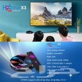 جهاز  H96 Max X3 Amlogic S905X3 4GB