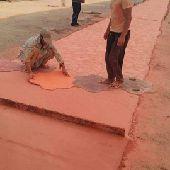 معلم صبه الخرسانة المطبوعة الملونة 0530564227