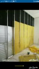 عوازل ورق جدران
