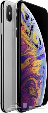 جديد الايفون اكس اس ماكس 512 فضي