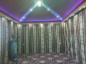 بيوت شعر ومظلات