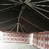 تجهيز مخيمات بيوت شعر خيام غرف خشب دورات مياه