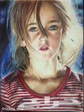رسام لرسم الصور الشخصية .
