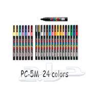 مجموعة 24 أقلام رسم احترافية ملونة يوني بوسكا