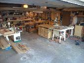 مصنع ورشة  خشب