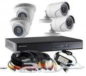 كاميرات مراقبة 5ميجا وشهادة كفاءة وضمان 3 سنة