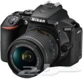كاميرا نس احترافيه Nikon d5600 شبه جديده