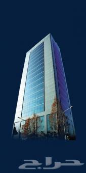 برج جديد تجاري مؤجر كامل موقع ممتاز