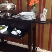 طاولات بوفيه وشحن مجاني