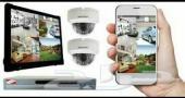 كاميرات مراقبة ولابتوبات