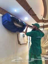 تنظيف غسيل مساجد مكيفات كنب موكيت فرش شقق فلل