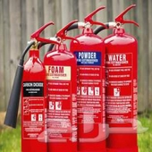 تعبئة وصيانة طفايات الحريق