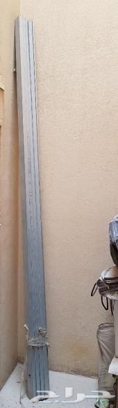 للبيع لوحات جبس بورد (4حبات)مع حديد