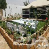 إستراحات إيجار في حي العارض شمال الرياض