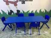 طاولة مذاكرة أطفال جديدة