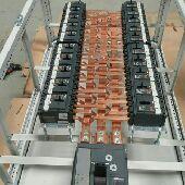 تصنيع لوحات توزيع كهربائيه وطبالين.