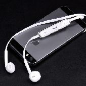 سماعات بلوتوث عمليه بتصميم شكل الايفون