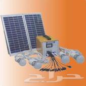 جهاز منظومة الطاقة الشمسية للاضاءة