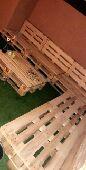 طبليات خشب مستعمله وجديده