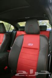 طقم مقاعد أحمر وكالة هوندا سيفيك 2015 2014 HONDA CIVIC SI FACTORY  CLOTH SEAT COVERS BLACKRED