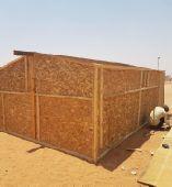 غرف خشب  مع تركيب وتوصيل لجميع مناطق المملكه