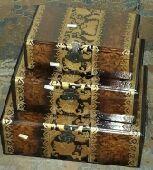 صواني تقديم وصناديق خشبية بسعر مخفض