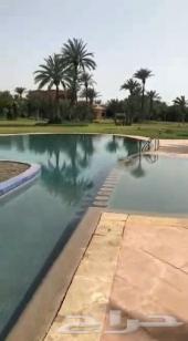 فيلا فخمة للإيجار 5 غرف بمدينة مراكش بالمغرب