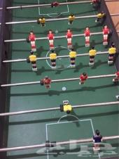 طاولة لعبة كرة القدم -الفرفيرة- المقاس الكبير