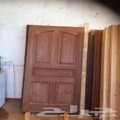 تفصيل أبواب خشب سويدي