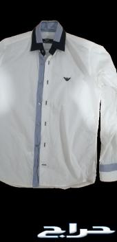 جزمة أرماني وقميص أرماني أصلي