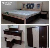 غرف نوم جديده باسعار مناسبه للجميع