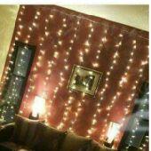اجعل منزلك وحفلاتك مميزة مع الستائر المضيئة