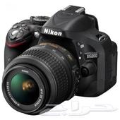 كاميرا نيكون d5200 نظيفة جدا