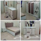 غرف نوم جديدة جاهزه وتفصيل حسب الطلب
