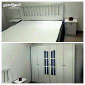 غرف نوم جديده 1800ريال مع كل شي 0591040166