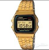 ساعات كاسيو للبيع بسعر مناسب واصليه بقراطيسها