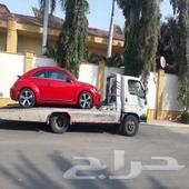 سطحة جدة حي النعيم لنقل السيارت السعر 100ريال