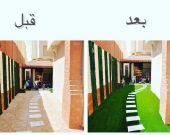 تصميم وتنسيق الحدائق مهندس ابو ليلي