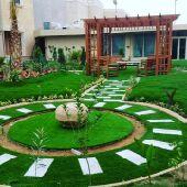 م   ابوعبدالرحمن لتصميم الحدائق  والديكورات