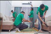 شركة تنظيف منازل شقق سجاد خزانات  مجالس مكاتب