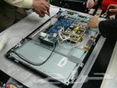 صيانة جميع شاشات ال LED و LCD