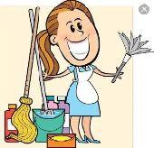 عاملة منزلية بالساعة والشهر