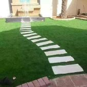 النجيل أوالعشب الصناعى والطبيعى بامكه والطائف