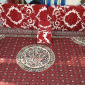 مكيفات صحراوي ومراوح بالرذاذ وجلسات للايجار