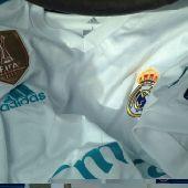 تيشيرت ريال مدريد مع كامل العلامات