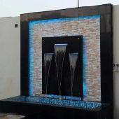 تصميم شلالات ونوفير التيل الصناعي والطبيعي شب
