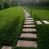 تنسيق حدائق والعشب الصناعي