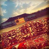 مخيم قمرا  بالثمامة للإيجار اليومي ( قسم واحد