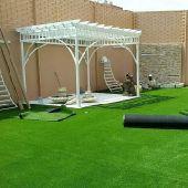 النجيله أو العشب الصناعى باالطائف