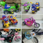 سيارة أطفال فاخرة مع هدية دباب اطفال